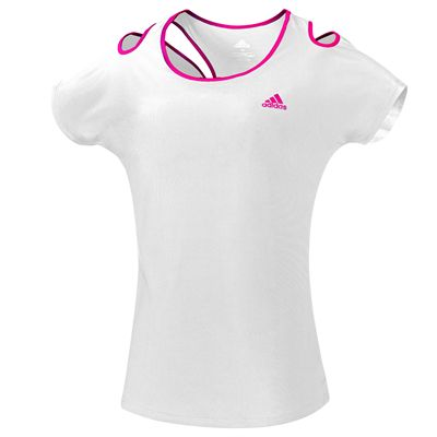 adidas Climacool Technical Ladies T-Shirt - White