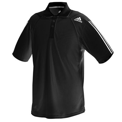 adidas Climacool Technical Mens Polo Shirt Black/White