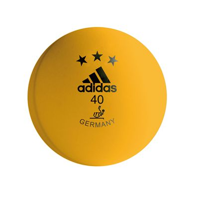 Adidas Competition Table Tennis Balls - Box of 120 - orange