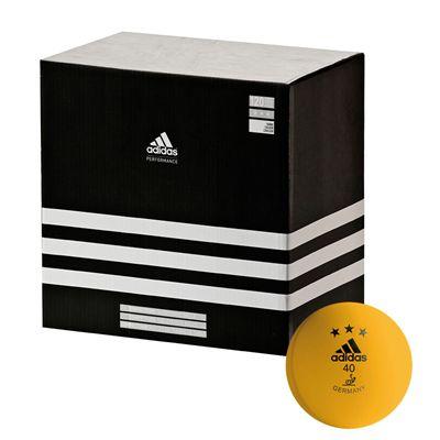 Adidas Competition Table Tennis Balls - Box of 120 orange