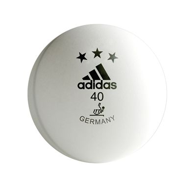 Adidas Competition Table Tennis Balls - White