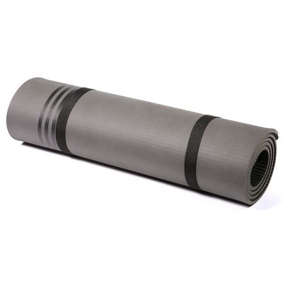 adidas Elite Training Mat-Grey and Black - Roll