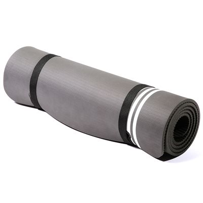 adidas Elite Training Mat-Grey and White - Roll