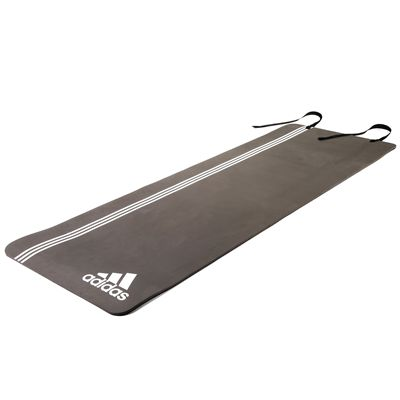 adidas Elite Training Mat-Grey Colour and White Strips