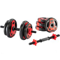 adidas Essential 20kg Dumbbell Set