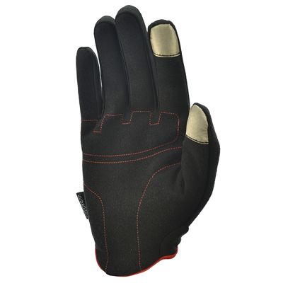 adidas Essential Full Finger Gloves - Red Bottom