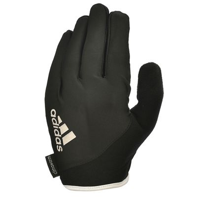 adidas Essential Full Finger Gloves - White