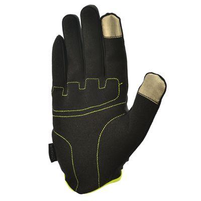 adidas Essential Full Finger Gloves - Yellow Bottom
