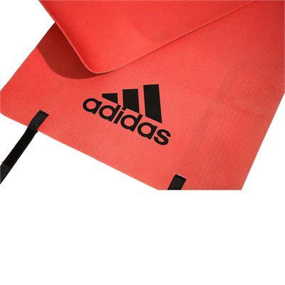 adidas Fitness Mat-Bold Orange - Logo View