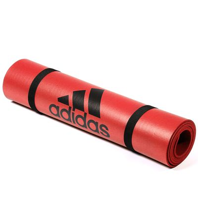 adidas Fitness Mat-Bold Orange - Roll View