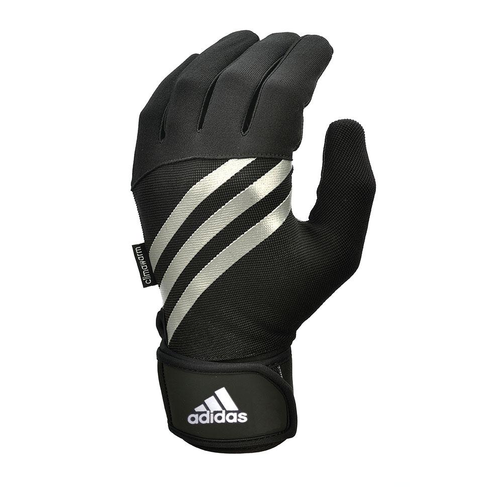 adidas Full Finger Outdoor Training Gloves  BlackWhite S