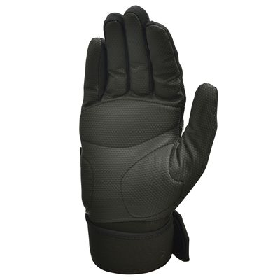 adidas Full Finger Weightlifting Gloves - Black/Silver - Bottom