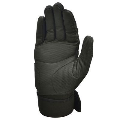 adidas Full Finger Weightlifting Gloves - Black/Silver - Bottom