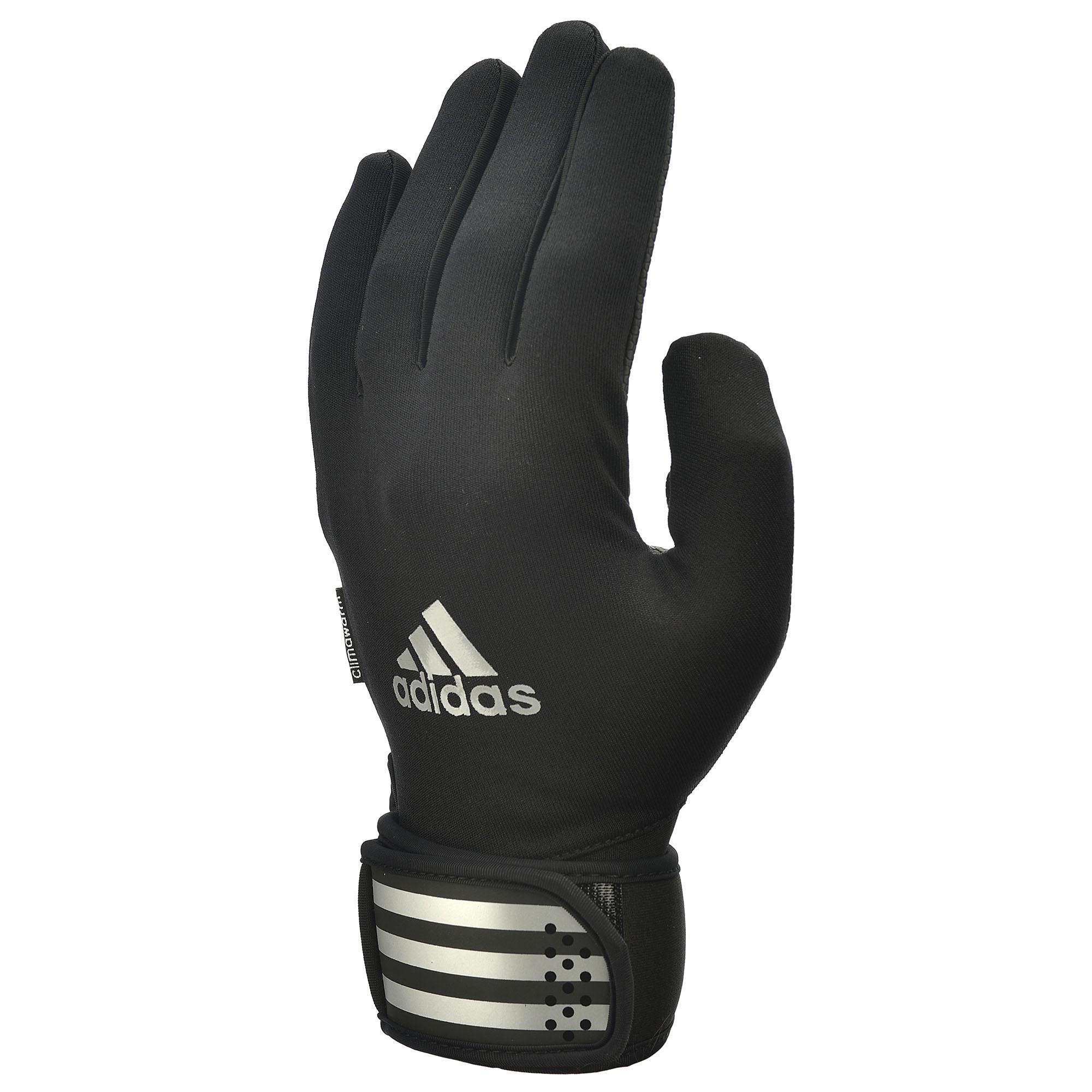adidas Full Finger Outdoor Training Gloves  BlackSilver S
