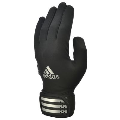 adidas Full Finger Weightlifting Gloves - Black/Silver