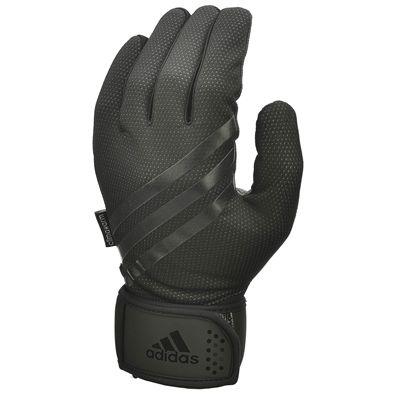 adidas Full Finger Weightlifting Gloves - Black
