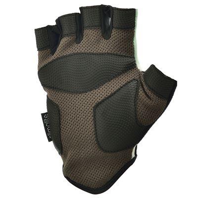 adidas Half Finger Ladies Fitness Gloves - Bot - Green