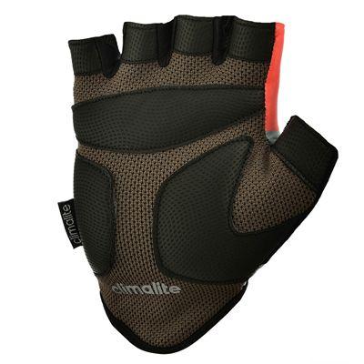 adidas Half Finger Ladies Fitness Gloves - Bottom - Orange Black