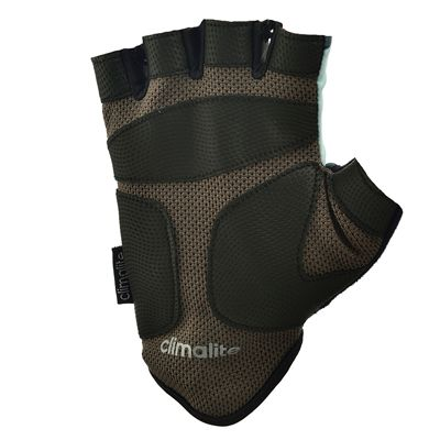 adidas Half Finger Ladies Fitness Gloves - Mint - Bot