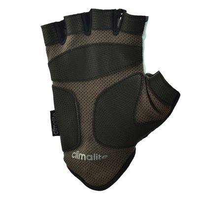 adidas Half Finger Ladies Fitness Gloves - Mint - Bot