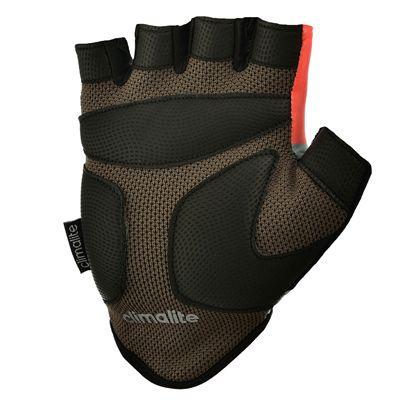 adidas Half Finger Ladies Fitness Gloves - Silver Black - Bottom