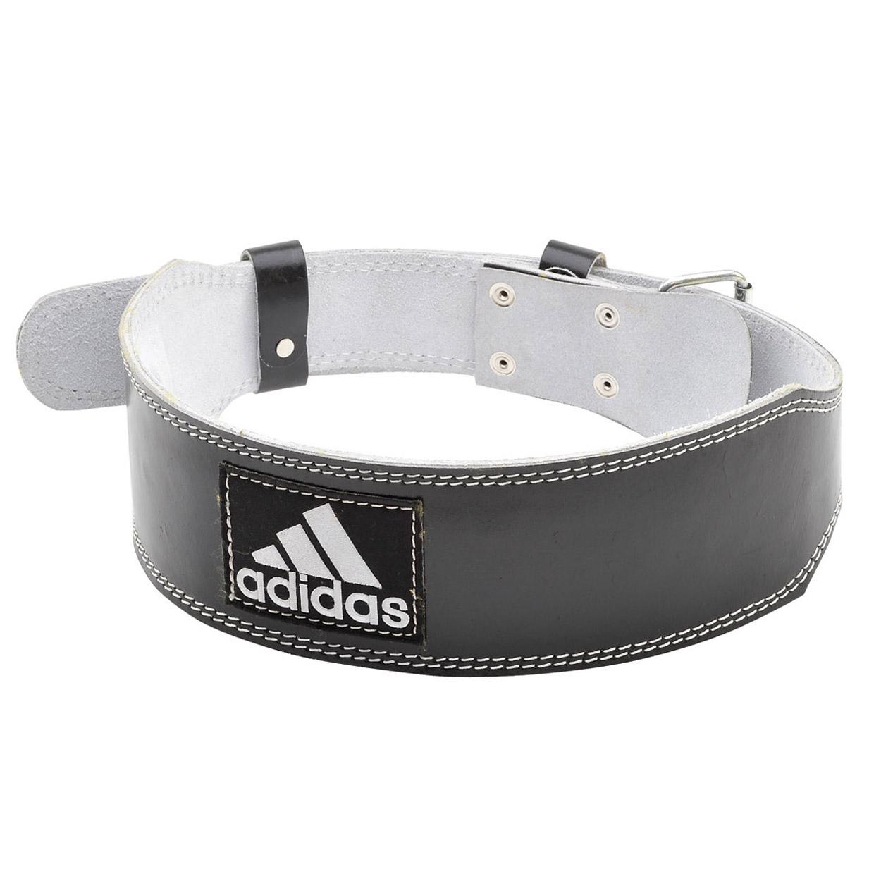 Adidas Leather Lumbar Belt - M