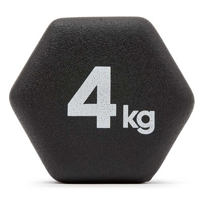 adidas Neo Hex Dumbbells - Pair - 4kg - Weight