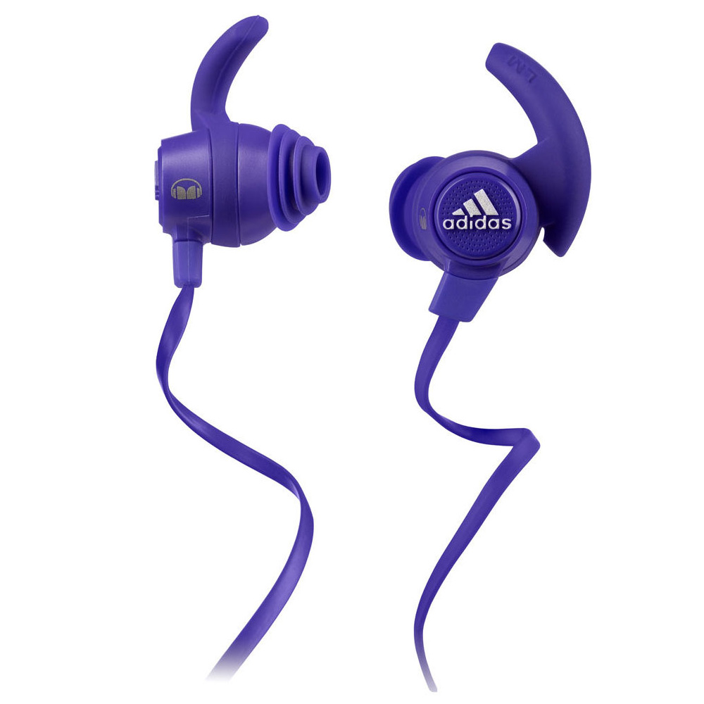 Image of adidas Performance by Monster Response Sport Headphones - Purple