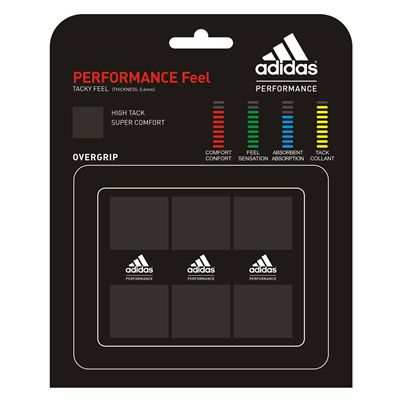 Adidas Performance Feel Overgrip 3 Pack Black