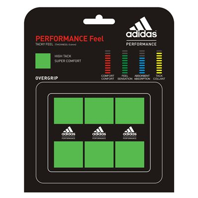 Adidas Performance Feel Overgrip 3 Pack Vivid Green