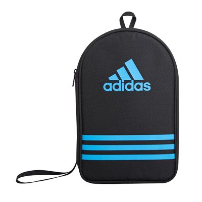 adidas Table Tennis Bat Double Bag - Black and Blue - Main Image
