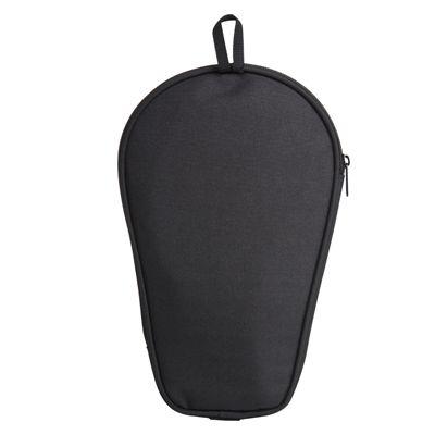 adidas Table Tennis Single Bat Bag - Black and Blue - Back