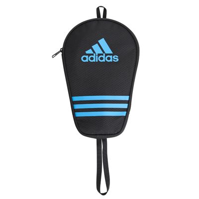 adidas Table Tennis Single Bat Bag - Black and Blue - Main Image