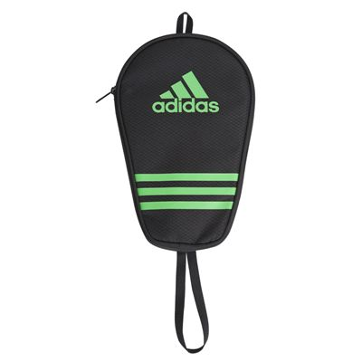 adidas Table Tennis Single Bat Bag - Black and Green - Main Image