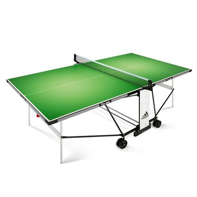 Adidas To Lime Outdoor Table Tennis Table - front view