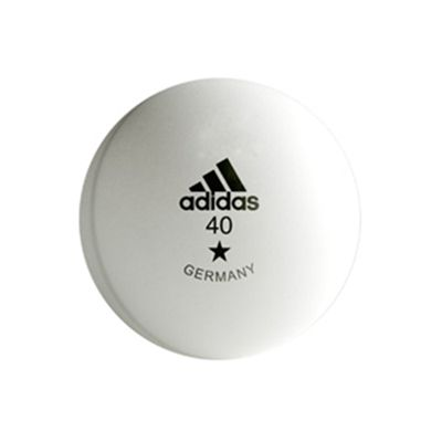 Adidas Training Table Tennis Balls White