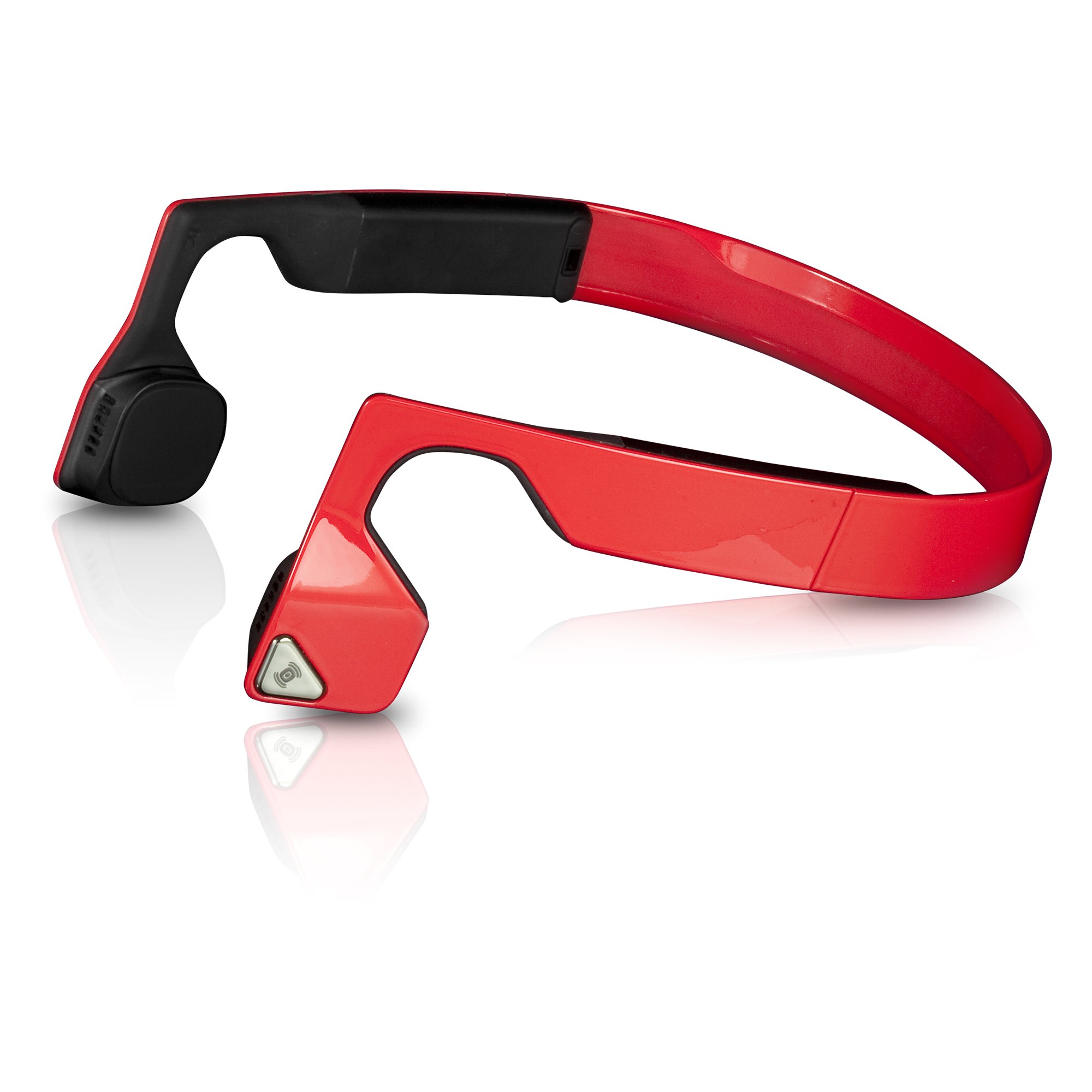 Image of AfterShokz Bluez 2 Bluetooth Wireless Headphones - Red