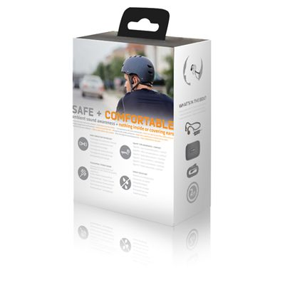 AfterShokz Sportz 3 Open Ear Sport Headphones - Package Back View
