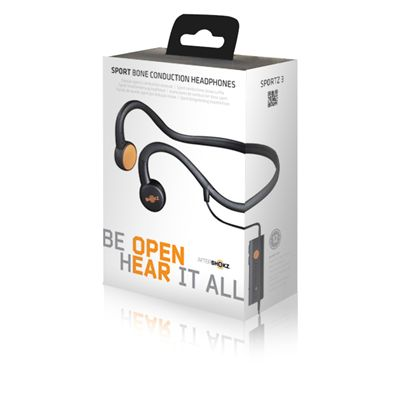 AfterShokz Sportz 3 Open Ear Sport Headphones - Package Front View