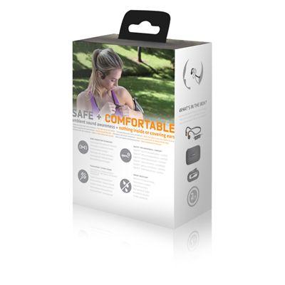 AfterShokz Sportz M3 Open Ear Sport Headphones - Back Package View
