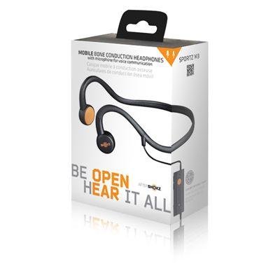 AfterShokz Sportz M3 Open Ear Sport Headphones - Front Package View