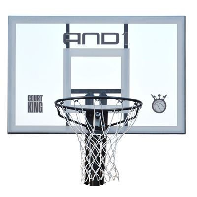 AND1 Court King Portable Basketball System - Board Close View