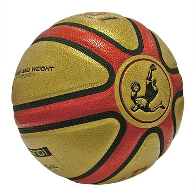 AND1 Legend Basketball Gold side