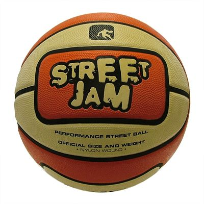 AND1 Street Jam Basketball Orange Cream