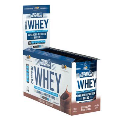 Applied Nutrition Critical Whey 24 Sachet Box