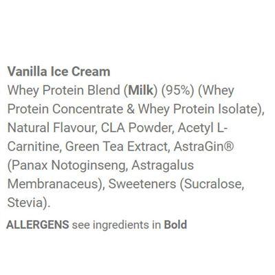 Applied Nutrition Diet Whey 1kg - Chocolate - Vanilla Ingredients