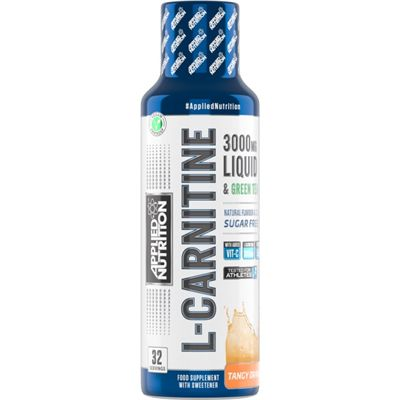 Applied Nutrition L-Carnitine Liquid 3000 with Green Tea - tangy orange