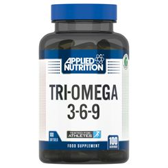 Applied Nutrition Tri-Omega 3-6-9 - 100 Soft Gels