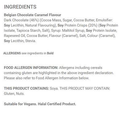 Applied Nutrition Vegan Indulgence Bar - Pack of 12 - Ingredients