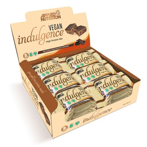 Applied Nutrition Vegan Indulgence Protein Bar - Pack of 12